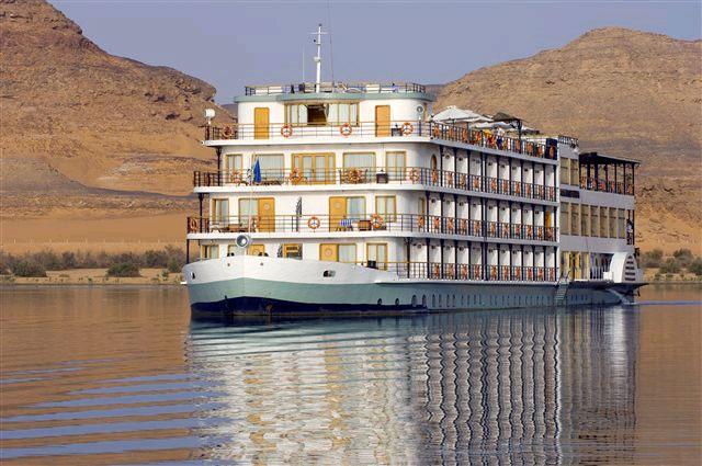 navigazione sul lago Nasser