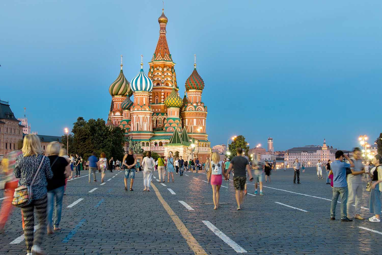 Viaggio d'aurore: Tour a Mosca
