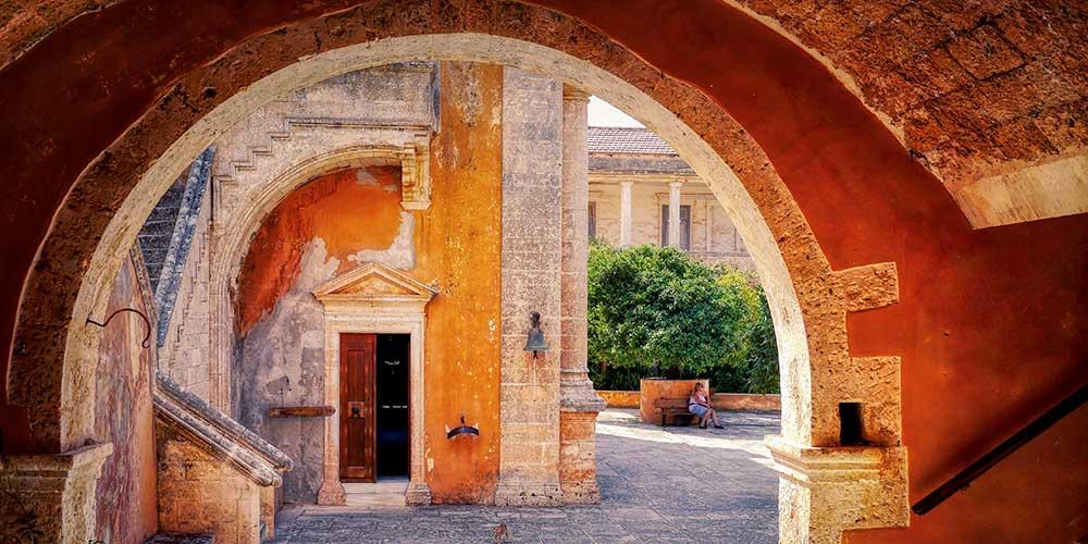 CRETA: monastero. L'isola di Minosse   Viaggio d'Autore