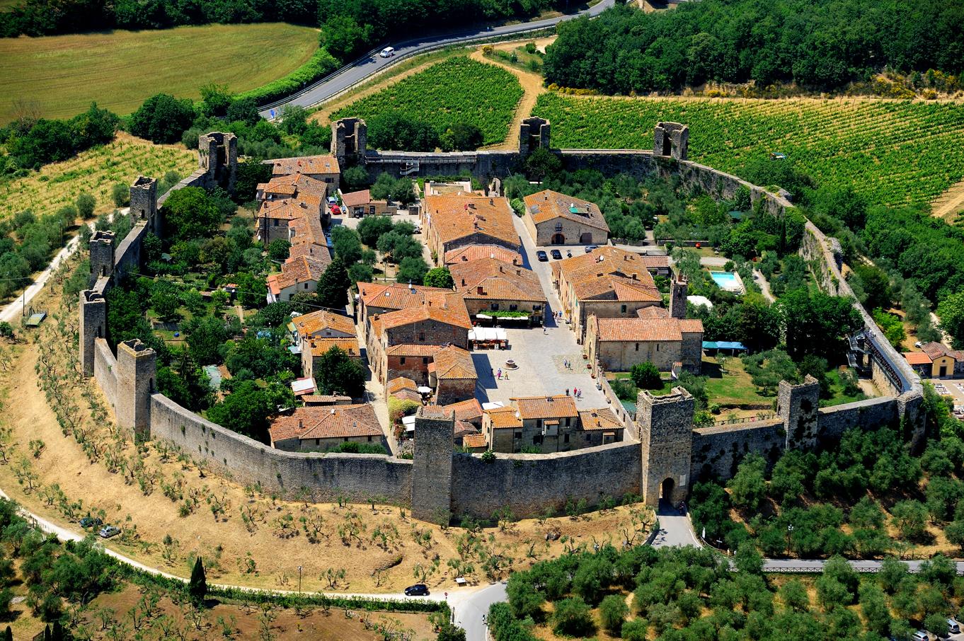 tra borghi e fortificazioni val d'elsa e dintorni
